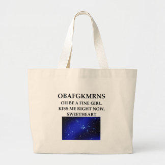 ASTRONOMY star types Tote Bag
