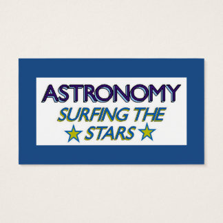 Astronomy Stars Business Card