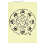 Astronomy Sun and Eclipses Greeting Card