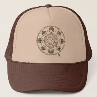 Astronomy Sun and Eclipses Trucker Hat