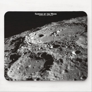 Astronomy Surface of the Moon Detailed Image Mouse Pad