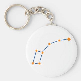 astronomy-ursa-minor-2 basic round button keychain