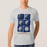 Astronomy. Woman t-shirt Camisas