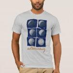 Astronomy. Woman t-shirt Playera