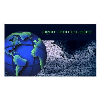 Astronomy World Globe Business Card