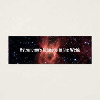 Astronomy's Future Is in the Webb - Save JWST Mini Business Card