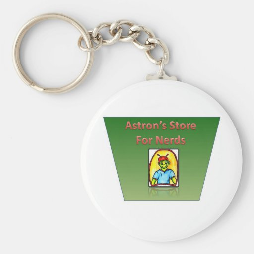 Astrons Store For Nerds Keychain