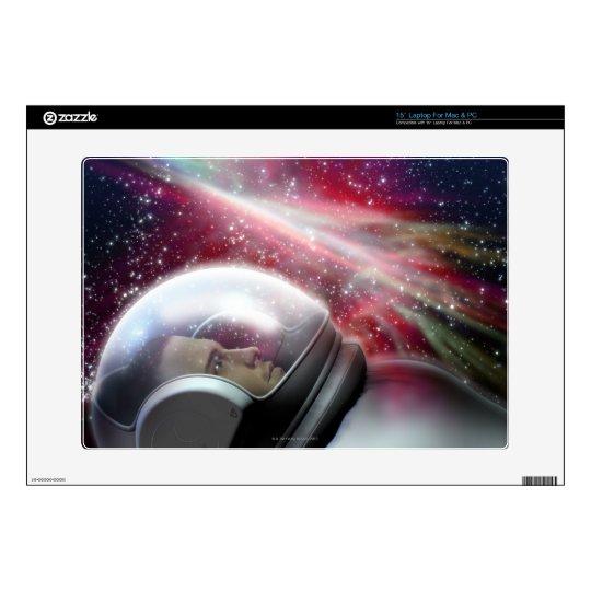 "Astronuat 15"" Laptop Skins"