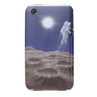 Astronuat above Mercury iPhone 3 Covers
