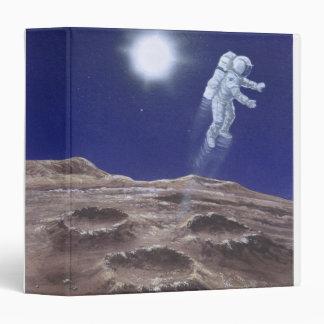 "Astronuat sobre Mercury Carpeta 1 1/2"""