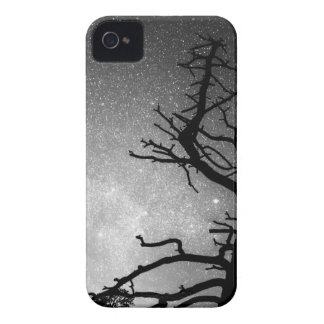 Astrophotography Night Black and White Portrait iPhone 4 Cover