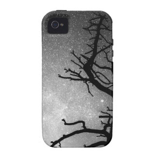 Astrophotography Night Black and White Portrait Case-Mate iPhone 4 Cover