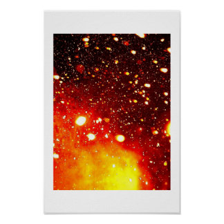 Astrophysical Snow Poster