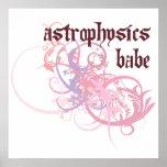 Astrophysics Babe Print
