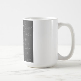 Astrophysics diagrams and formulas coffee mug
