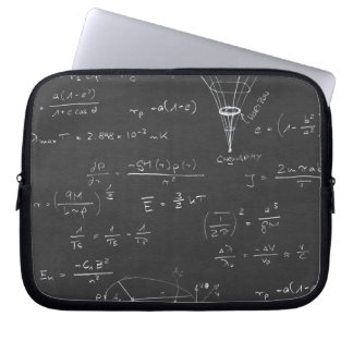 Astrophysics diagrams and formulas computer sleeve