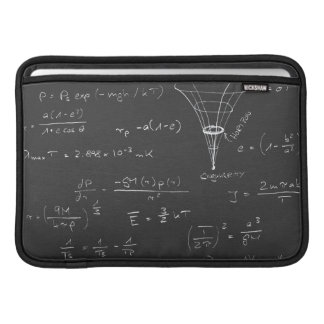 Astrophysics diagrams and formulas MacBook air sleeve