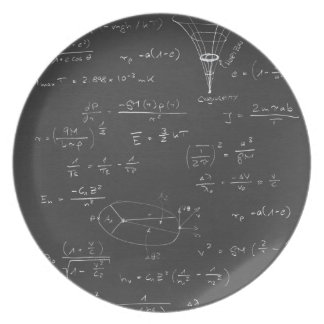 Astrophysics diagrams and formulas melamine plate