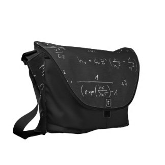 Astrophysics diagrams and formulas messenger bag
