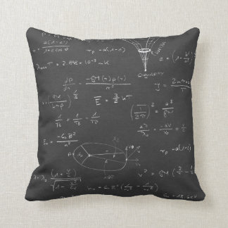 Astrophysics diagrams and formulas throw pillow