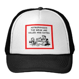 astrophysics hats