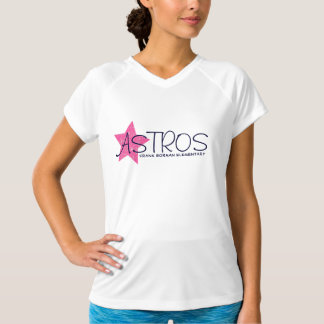 Astros Frank Borman Elementary Pink Star T-Shirt