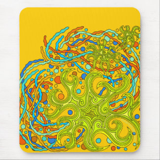 Astrum Vita Abstract Star Life Art Mouse Pad