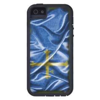 Asturas flag. iPhone 5 Case-Mate fundas