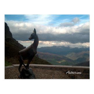 Asturian Mountains, Spain Postcard