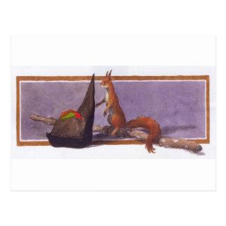 Asturian Squirrel Postcard