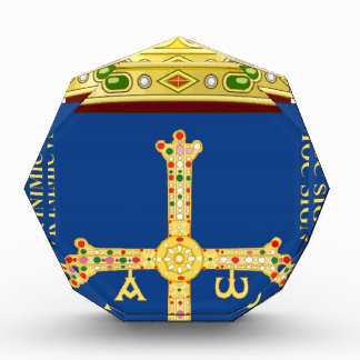 Asturias Coat of Arms (Spain) Acrylic Award