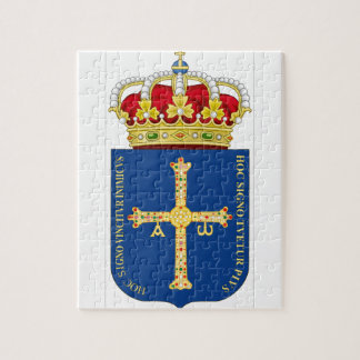 Asturias Coat of Arms (Spain) Jigsaw Puzzles