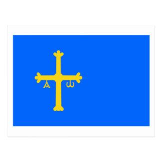 Asturias flag post cards