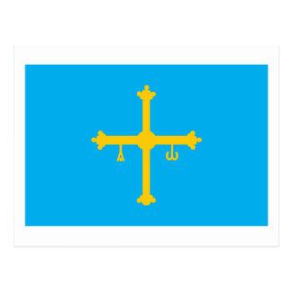 Asturias Flag Postcard