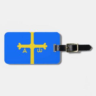 Asturias Flag (Spain) Tag For Luggage