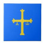 Asturias (Spain) Flag Tiles