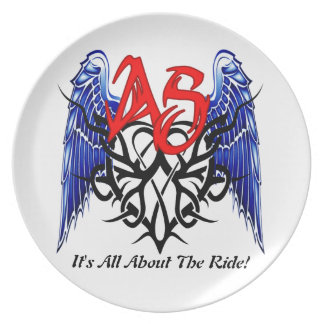 ASTV Dinner Plates - It's All About The Ride