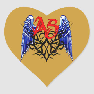 ASTV Tribal Logo - It's All About The Ride! Heart Sticker