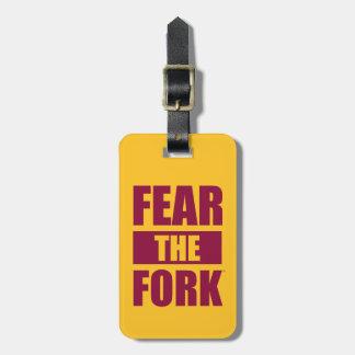ASU Fear the Fork Luggage Tag