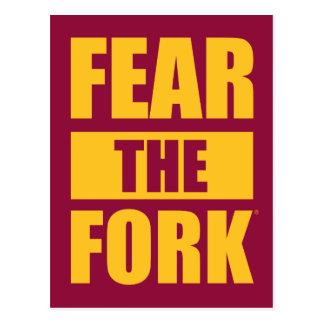 ASU Fear the Fork Postcard