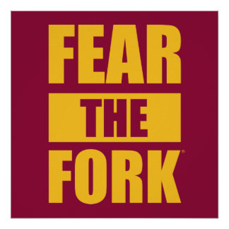 ASU Fear the Fork Poster