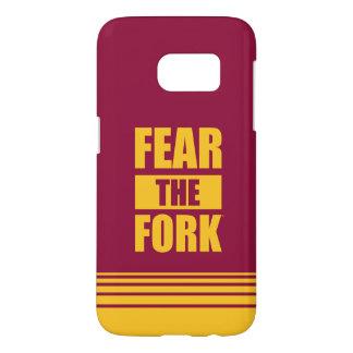 ASU Fear the Fork | Stripes Samsung Galaxy S7 Case