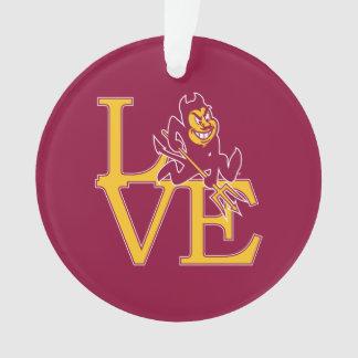 ASU Love Ornament