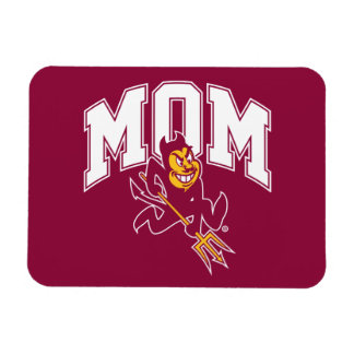 ASU Mom Rectangular Photo Magnet