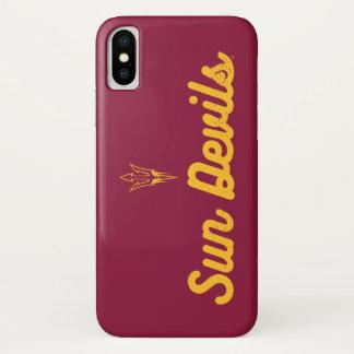 ASU | Vintage Script Logo iPhone X Case