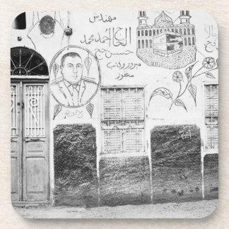 Asuán Egipto, casa adornada Posavasos
