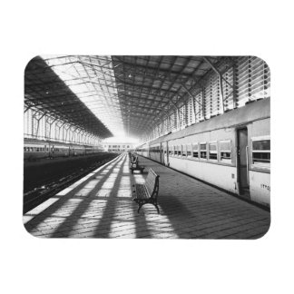 Asuán Egipto, interior de la estación de tren de l Iman Rectangular
