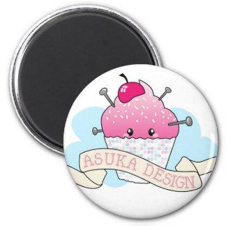 Asuka Design Cupcake Fridge Magnet
