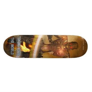 Asumiendo el control el mundo - monopatín - Cyborg Skate Board
