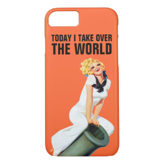 Asumo el control hoy el mundo funda iPhone 7